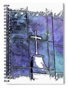 Our Father Berry Blues 3 Dimensional Spiral Notebook