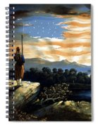 Our Heaven Born Banner Spiral Notebook