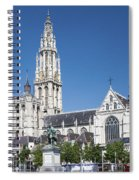 Our Lady Cathedral Antwerp Spiral Notebook