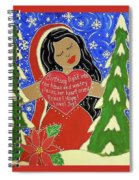 Our Lady Of Light Spiral Notebook
