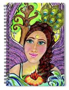 Our Lady Of Self-actualization Spiral Notebook