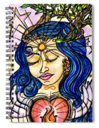 Our Lady Of Self Blessing Spiral Notebook
