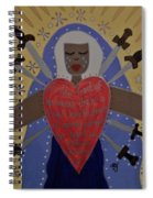 Our Lady Of Sorrows Spiral Notebook
