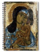 Our Lady Of Tenderness Spiral Notebook