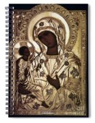 Our Lady Of Yevsemanisk Spiral Notebook
