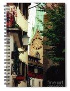 Our Ladys Minster Church In Zurich Switzerland Spiral Notebook