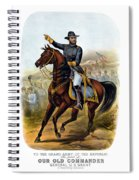 Our Old Commander - General Grant Spiral Notebook