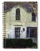 Our Town's Witch House Spiral Notebook
