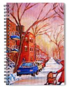 Out For A Walk With Mom Spiral Notebook