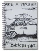 Out Of Gas Family Spiral Notebook