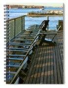 Out Of Line Spiral Notebook