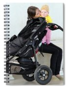 Out Of The Baby Stroller -- A Mother And Daughter Spiral Notebook