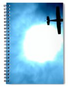 Out Of The Blue Spiral Notebook