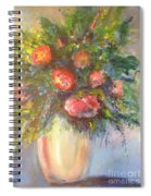 Out Of The Garden Spiral Notebook