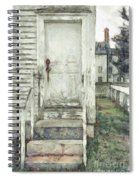 Out The Back Door Pencil Spiral Notebook
