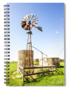 Outback Australian Farm Mill Spiral Notebook