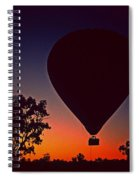 Outback Balloon Launch Spiral Notebook