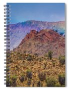 Outback Rainbow Spiral Notebook