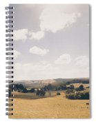Outback Ridgley In Scenic Tasmania, Australia Spiral Notebook