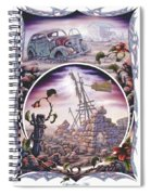 Outback Ruin Spiral Notebook