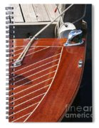 Outboard Runabout Spiral Notebook