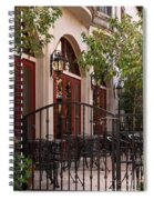 Outdoor Restaurant Spiral Notebook