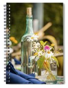 Outdoor Table Setting Spiral Notebook