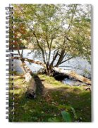 Outdoors Along The Huron River Spiral Notebook