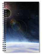 Outer Atmosphere Of Planet Earth Spiral Notebook