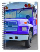 Outer Banks University Bus 1 Spiral Notebook