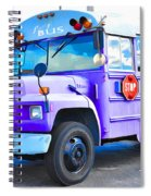 Outer Banks University Bus 2 Spiral Notebook