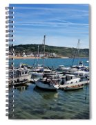 Outer Harbour - Lyme Regis Spiral Notebook