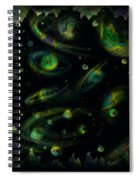Outer Space Dreams Spiral Notebook