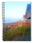 Outerbanks Sunrise At The Beach Spiral Notebook