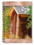 Outhouse 1 Spiral Notebook