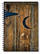 Outhouse Door  Spiral Notebook