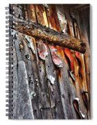 Outhouse Holzworth Historic Site Spiral Notebook