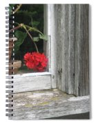Outside Please Spiral Notebook