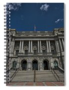 Outside The Library Of Congress Spiral Notebook