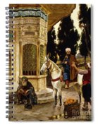 Outside The Palace Spiral Notebook