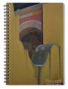 Outside The Walls Spiral Notebook