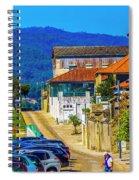 Outskirts Of Valenca Spiral Notebook