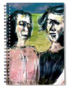 Outstanding In Their Field Spiral Notebook