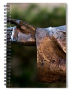 Outstretched Hand Spiral Notebook
