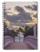 Over Bridge To The Sunrise Spiral Notebook