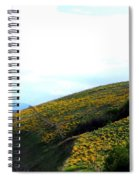 Over Hill And Dale Spiral Notebook