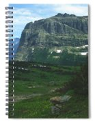Over Logan's Pass Spiral Notebook