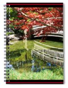Over Springtime Pond Spiral Notebook