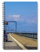 Over The Bridge Spiral Notebook