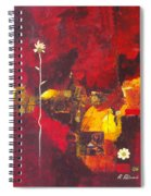 Over The Broken Fence Spiral Notebook